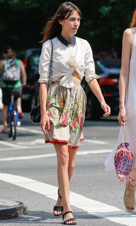 Katie Holmes, con el look de la semana