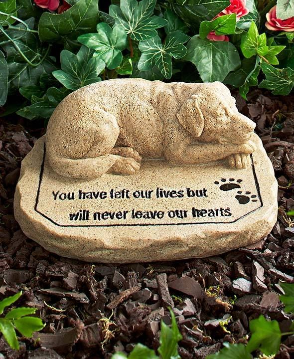 Dog memorial stone for pet dog grave marker paw prints dog dog memorial stone for pet dog grave marker paw prints publicscrutiny Image collections