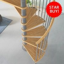 Best Gamia Deluxe Spiral Staircase Kit Star Buy Spiral 640 x 480