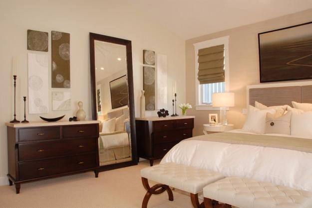 Stylish Mirrors Bringing To Light Functional And Modern Bedroom Designs Remodel Bedroom Bedroom Furniture Layout Cream Bedroom Furniture