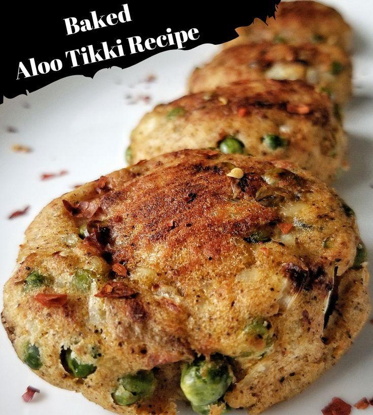 easy baked aloo tikki recipe aloo tikki recipe recipes healthy indian snacks on hebbar s kitchen recipes aloo tikki id=87204