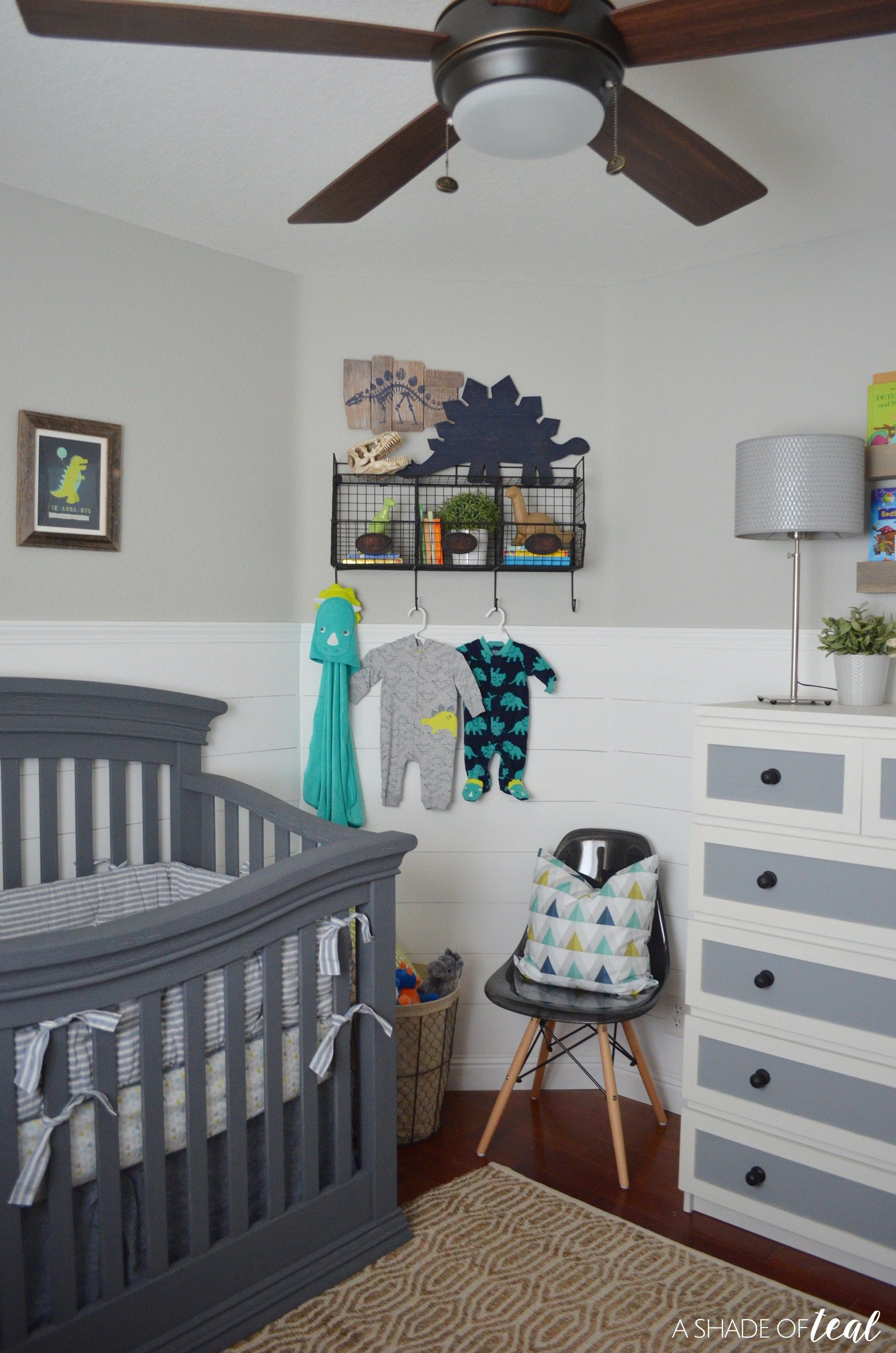Rustic Industrial Baby Boy Nursery // ORC The Reveal!
