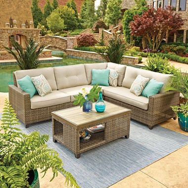 Member\'s Mark Agio Collection Park Place Sunbrella Seating Set ...