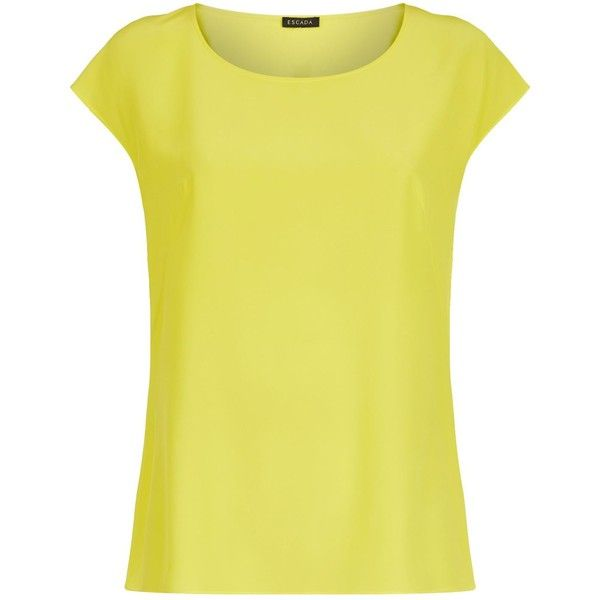 Escada Nanuk Cap Sleeve Blouse Cheap Sale For Sale Real Online Free Shipping Professional Free Shipping Good Selling Low Price Fee Shipping Vwf8Gg