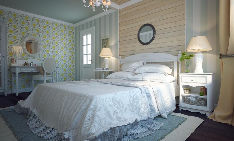 Интерьер дома в стиле прованс - Фото Дизайн интерьера ...