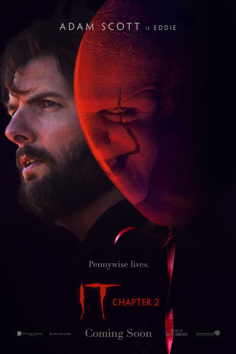 Fan Poster For It Chapter 2 2019 Stephen King Movies Adventure Movies Horror Movie Icons