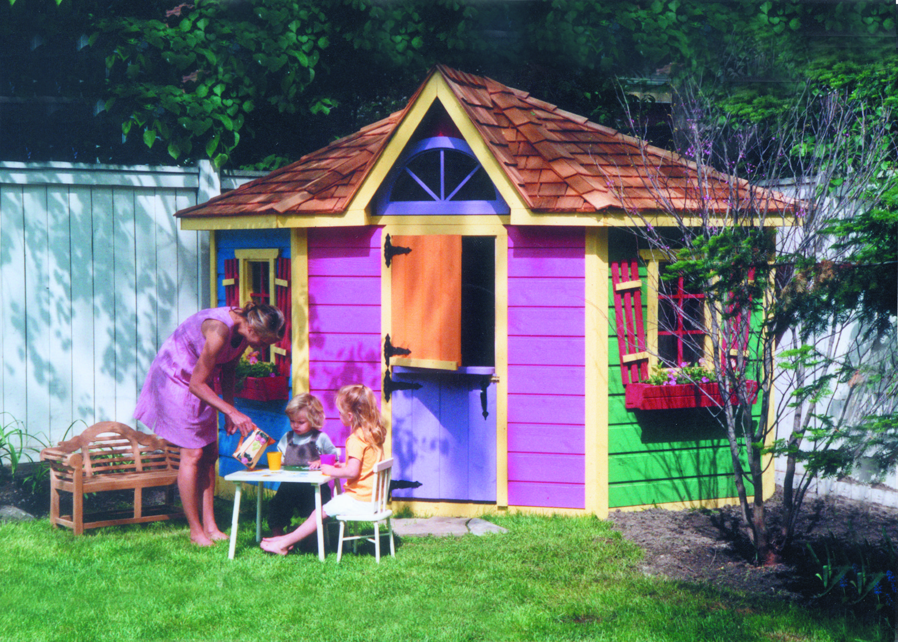 A Colourful Teatime In 2020 Play Houses Build A Playhouse Kids Clubhouse