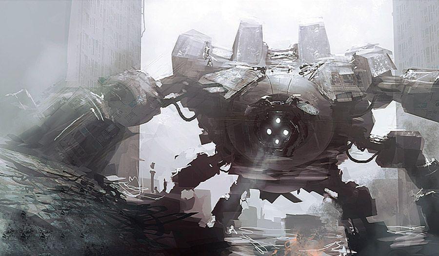 robot science fiction concept - photo #41