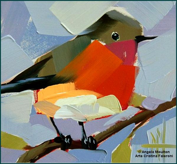 Angela Moulton Pinturas De Aves Pintura De Pajaros Pinturas De Animales