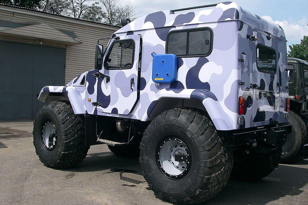 Monster-Jeeps aus Russland - Bilder - autobild.de