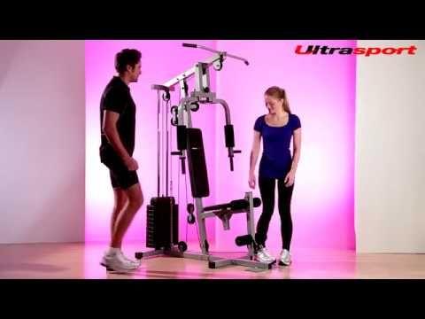 Ultrasport Multistation Kraftturm | Powertower - YouTube