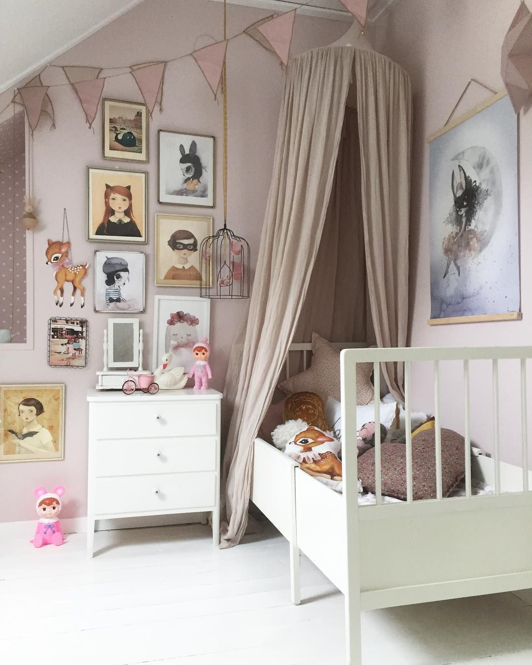 Love this pastel pink girl room Numero74 featured products