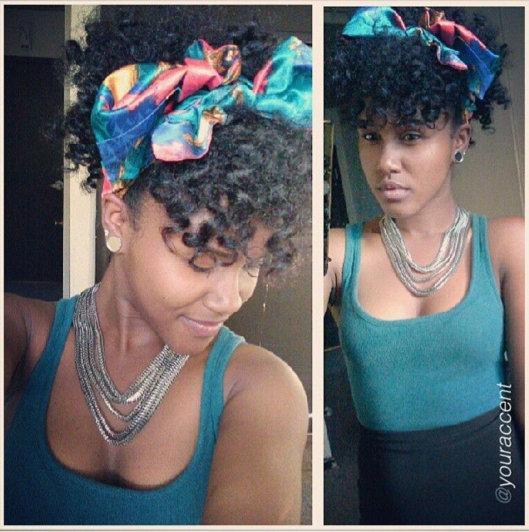 Head Wrap Styles For Natural Hair ❣️i Love With Hairstyle & Even Outfit ❣  Hairstylesmakeup