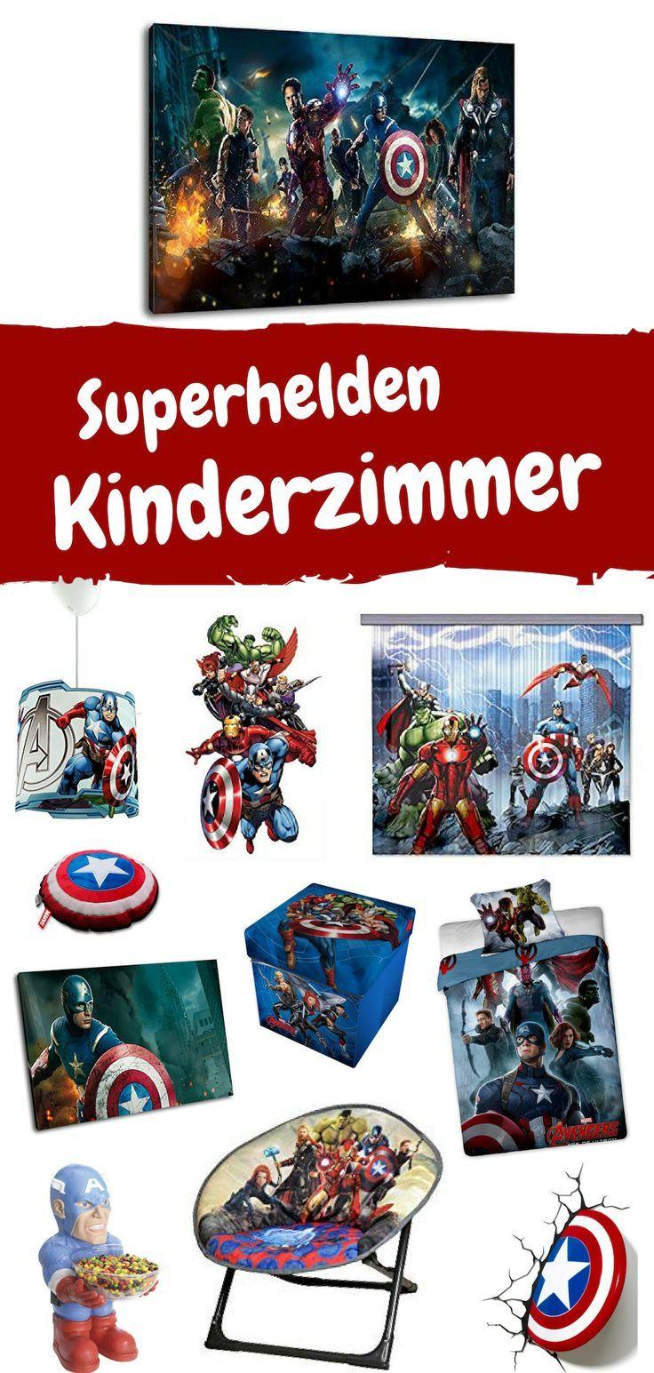 Inspiration, wie man das Kinderzimmer für einen Marvel