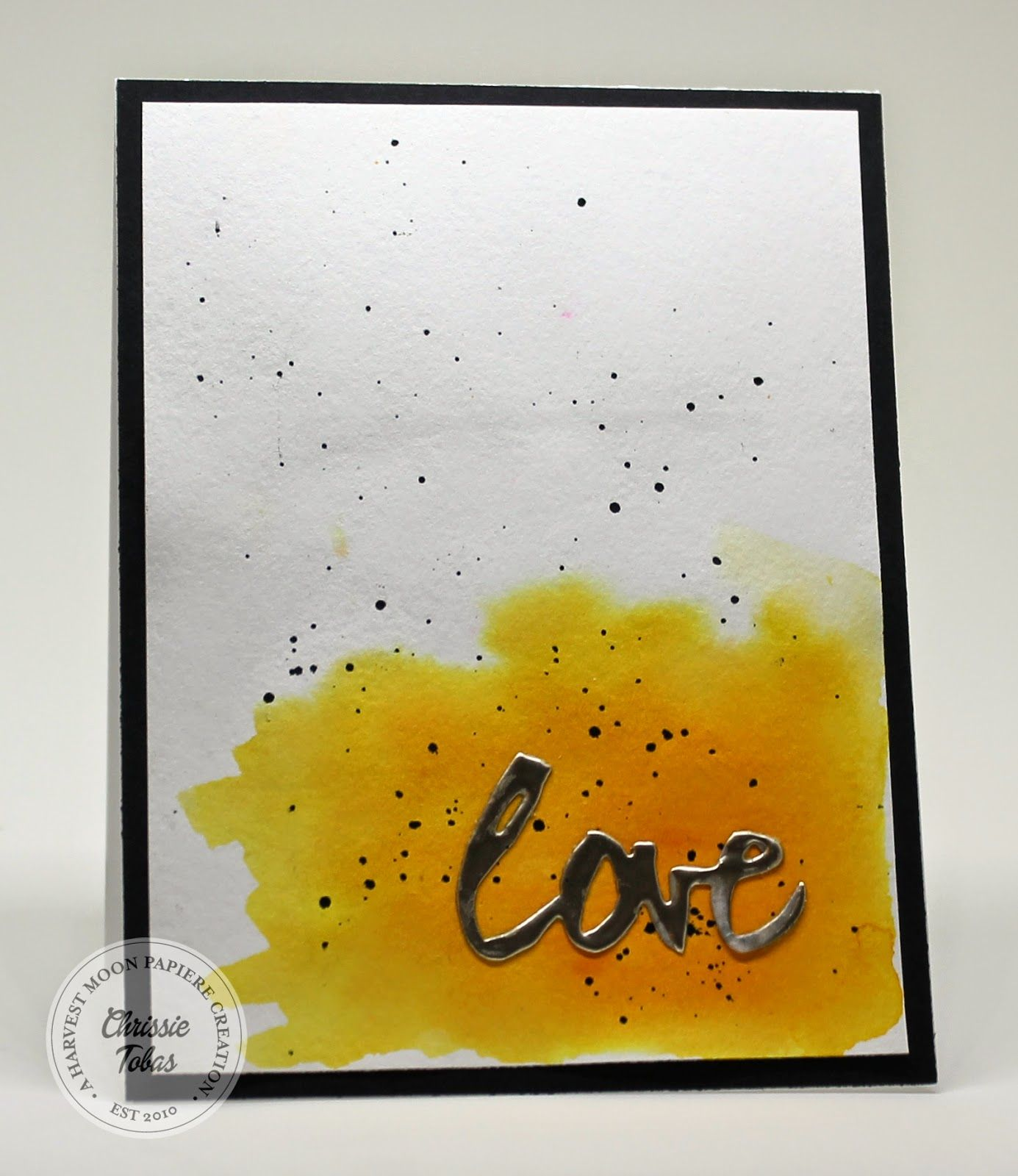 Harvest Moon Papiere: Love Sparkle Card! @ellenhutsonllc