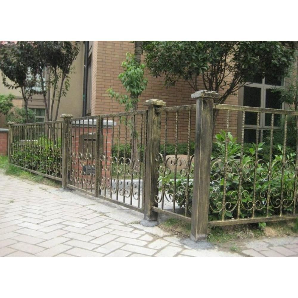 Antique wrought iron fence pinterest