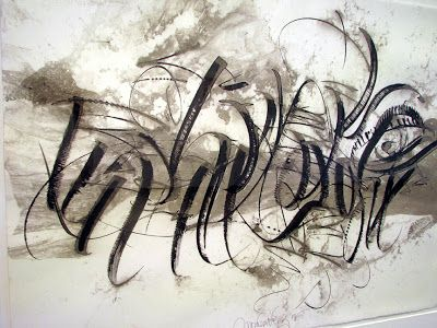 The following  photos are details  of artwork from 5 calligraphers from four countries who put on an exhibit in Louisville Kentucky.        ...