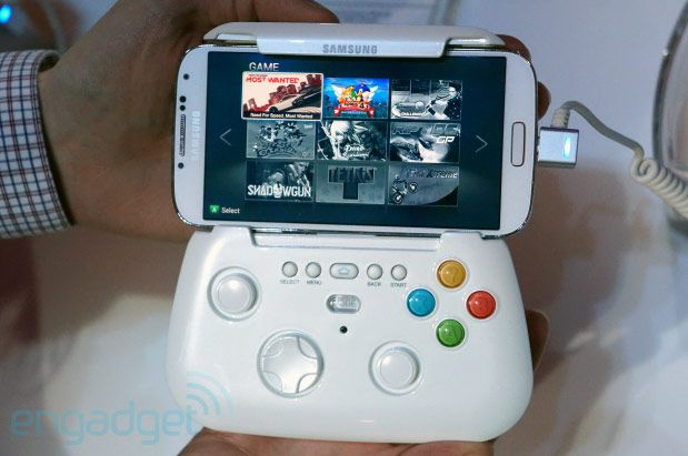 Samsung prototype wireless game pad handson!