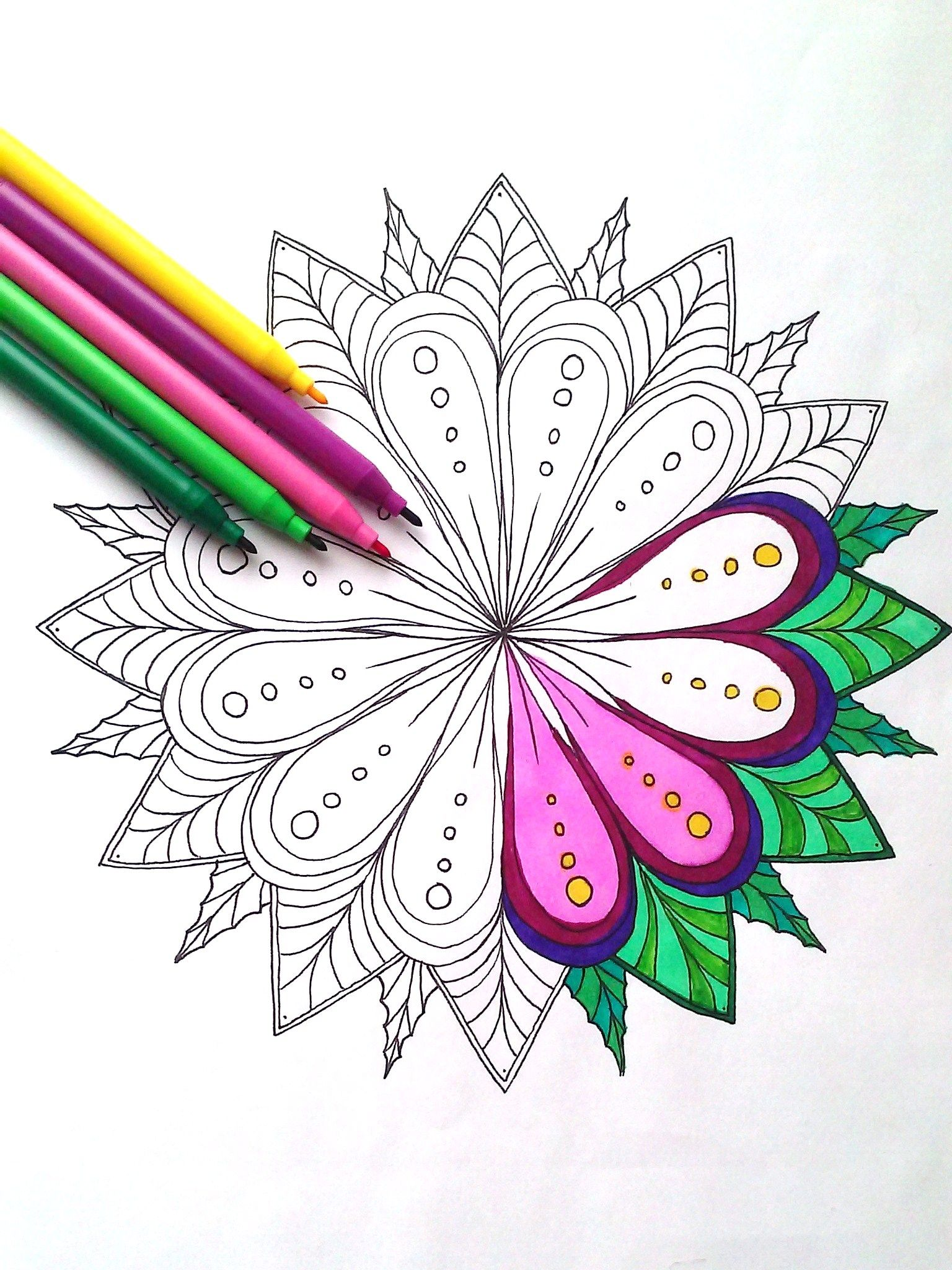 Pin On Freedom Color Adult Coloring Book By Helena Magnusson