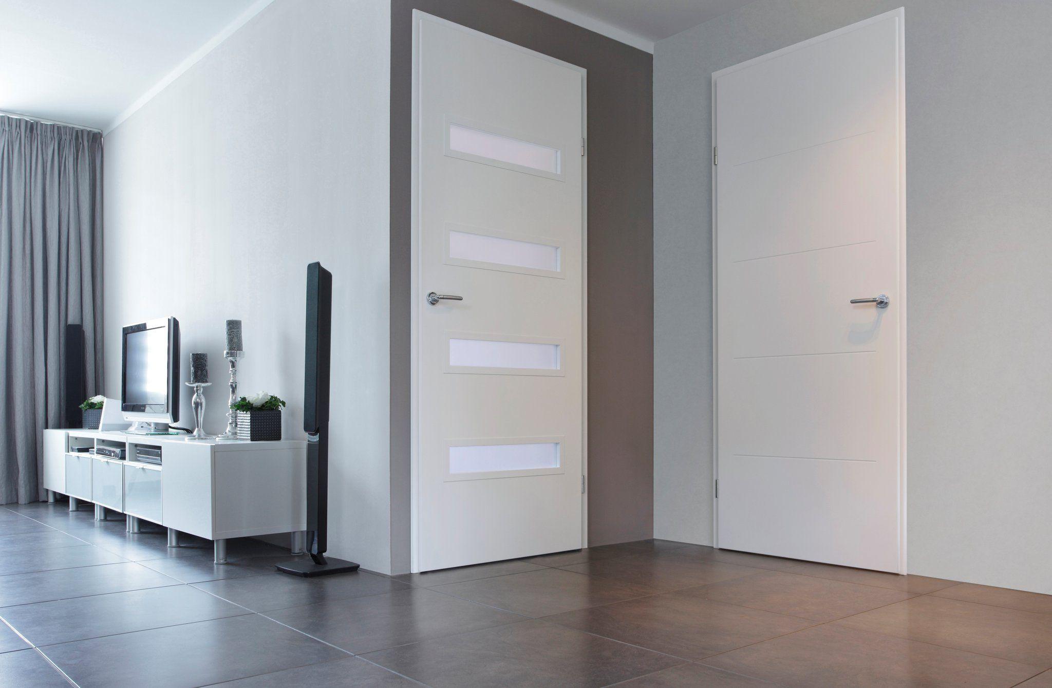 Binnendeur #woonkamerdeur #haldeur #strak #design #interieur #modern