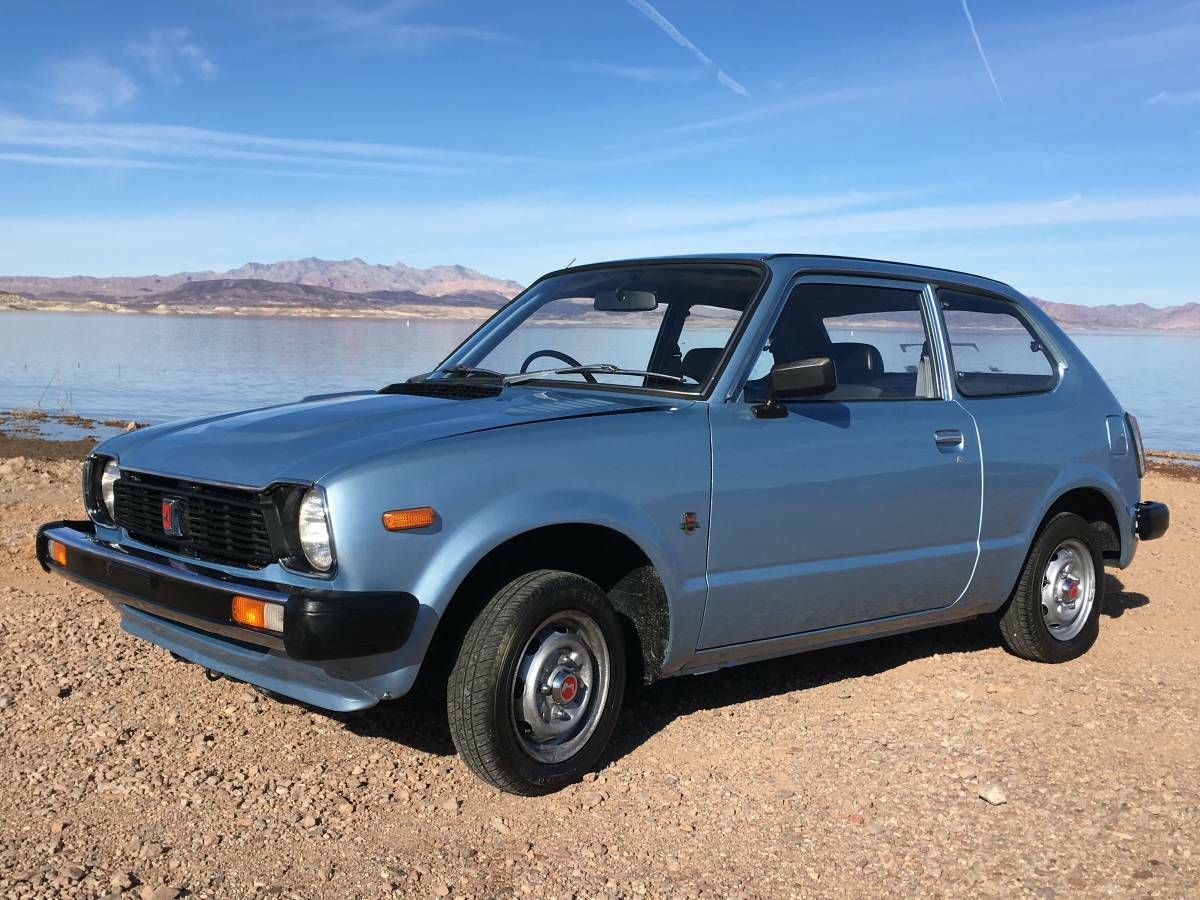 Nice Blue Metallic 1979 Honda Civic 1200 Honda Civic Civic Honda