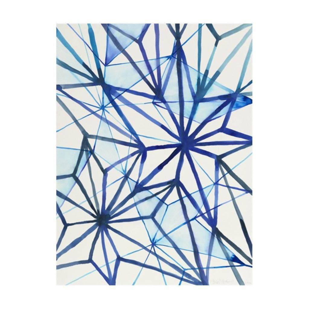 Blue fracture wall art products pinterest walls wrapped