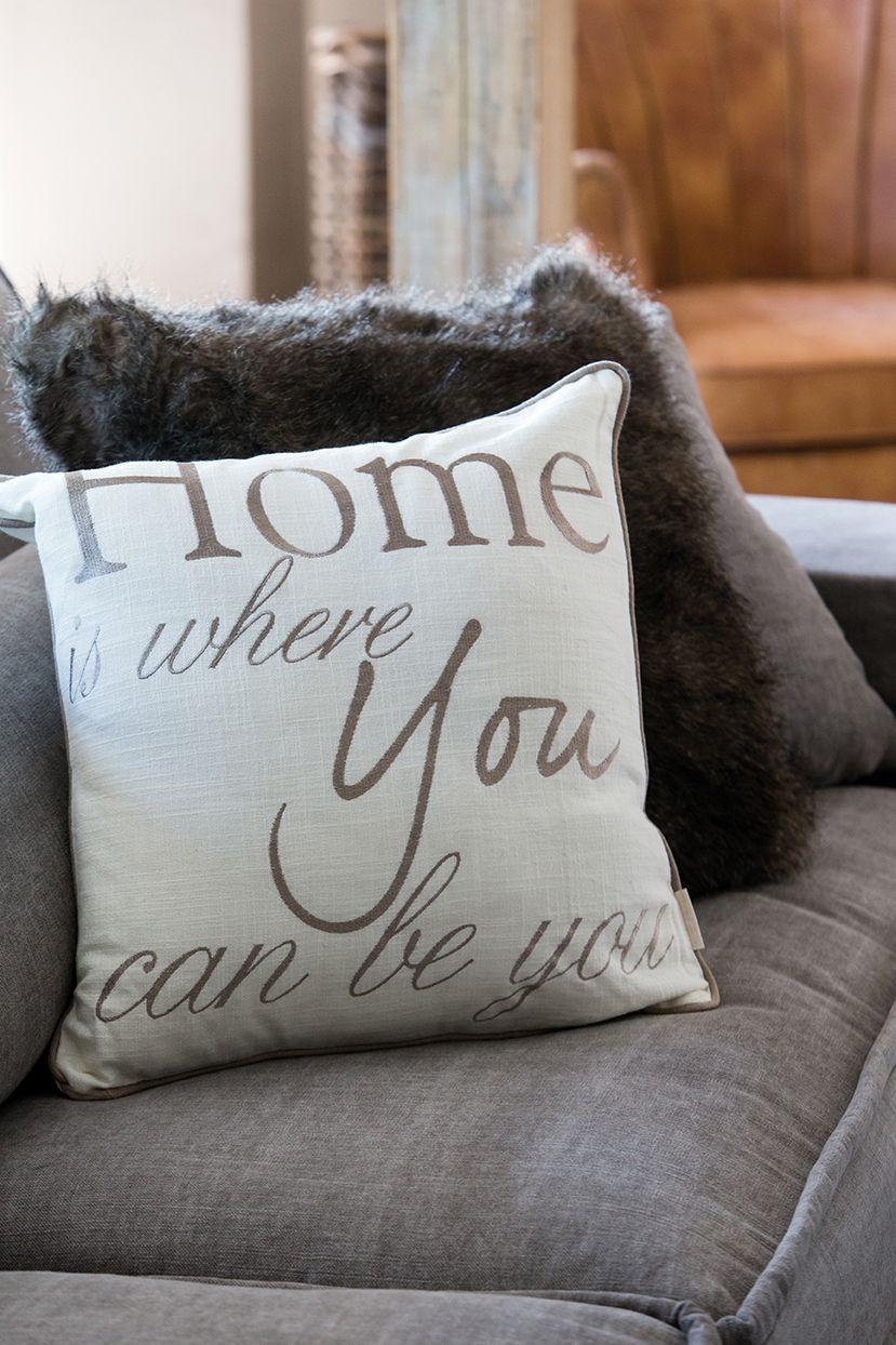 HIWYCBY Pillow Cover white 50x50 - Rivièra Maison