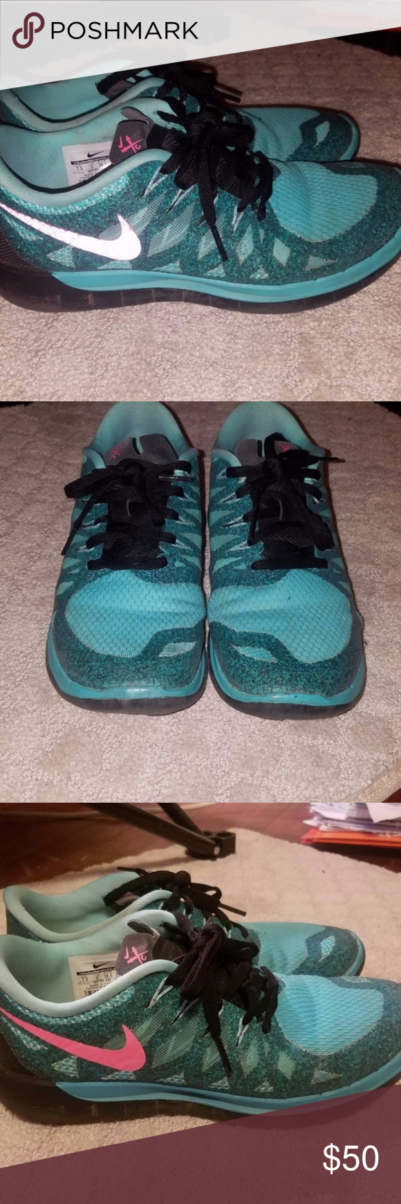 aa753ed64e83c Nike Free 5.0 Running Women s Shoes size 7.5 Nike Free 5.0 Running Women s  Shoes Size 7.5