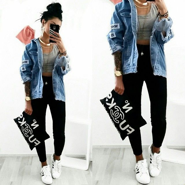Sydonce Urban Chic Fashion, Urban Chic Outfits, Edgy Summer Fashion, Dope  Outfits