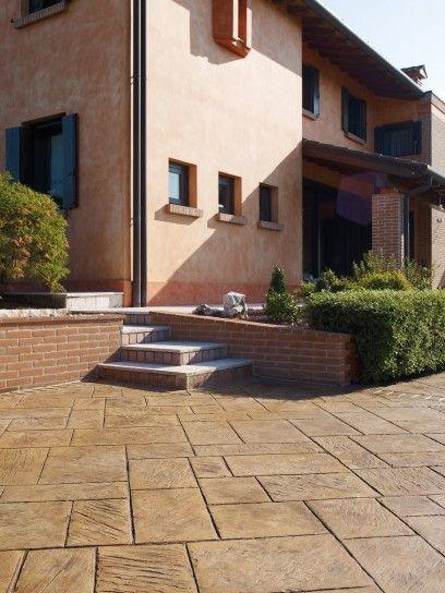 Come pavimentare un terrazzo | pavimenti | Pinterest | Terrazzo