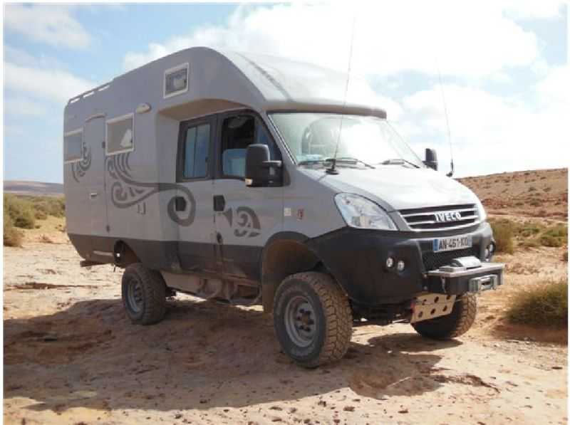 iveco 4x4 double cab camper overland safari pinterest. Black Bedroom Furniture Sets. Home Design Ideas