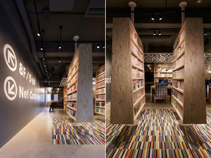 Internet Manga Caf Capsule Hotel By Fan Inc Tokyo Japan