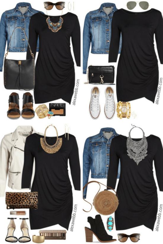 Plus Size Little Black Dress Outfits 3