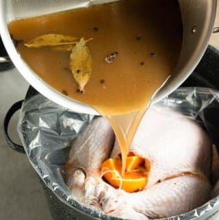 {The BEST} Apple Cider Turkey Brine Recipe | Self Proclaimed Foodie