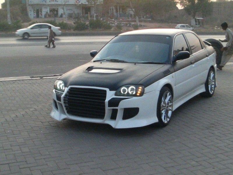Modifikasi Suzuki Baleno 2002