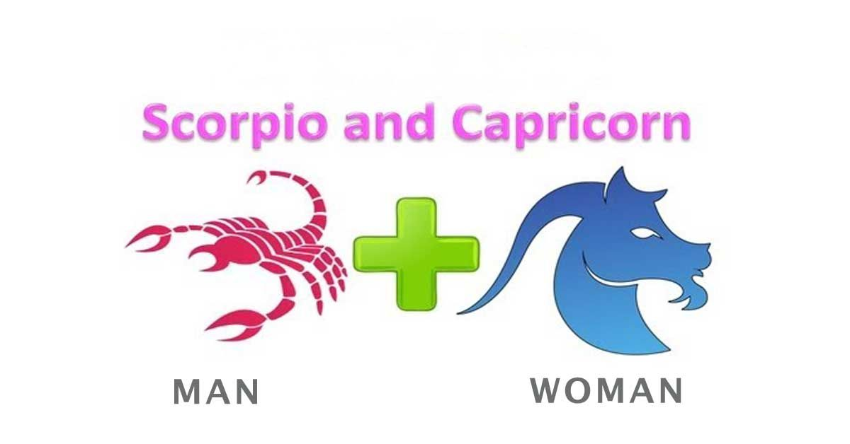 Scorpio man and Capricorn woman compatibility of love