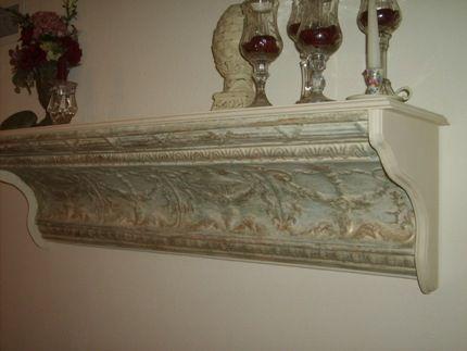 Vintage Tin Ceiling Crown Molding