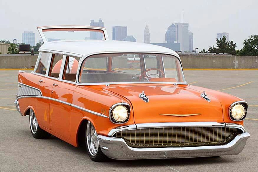Pin By Vern Sager On 57 Chevy S Classic Cars Chevy Nomad Dream Cars