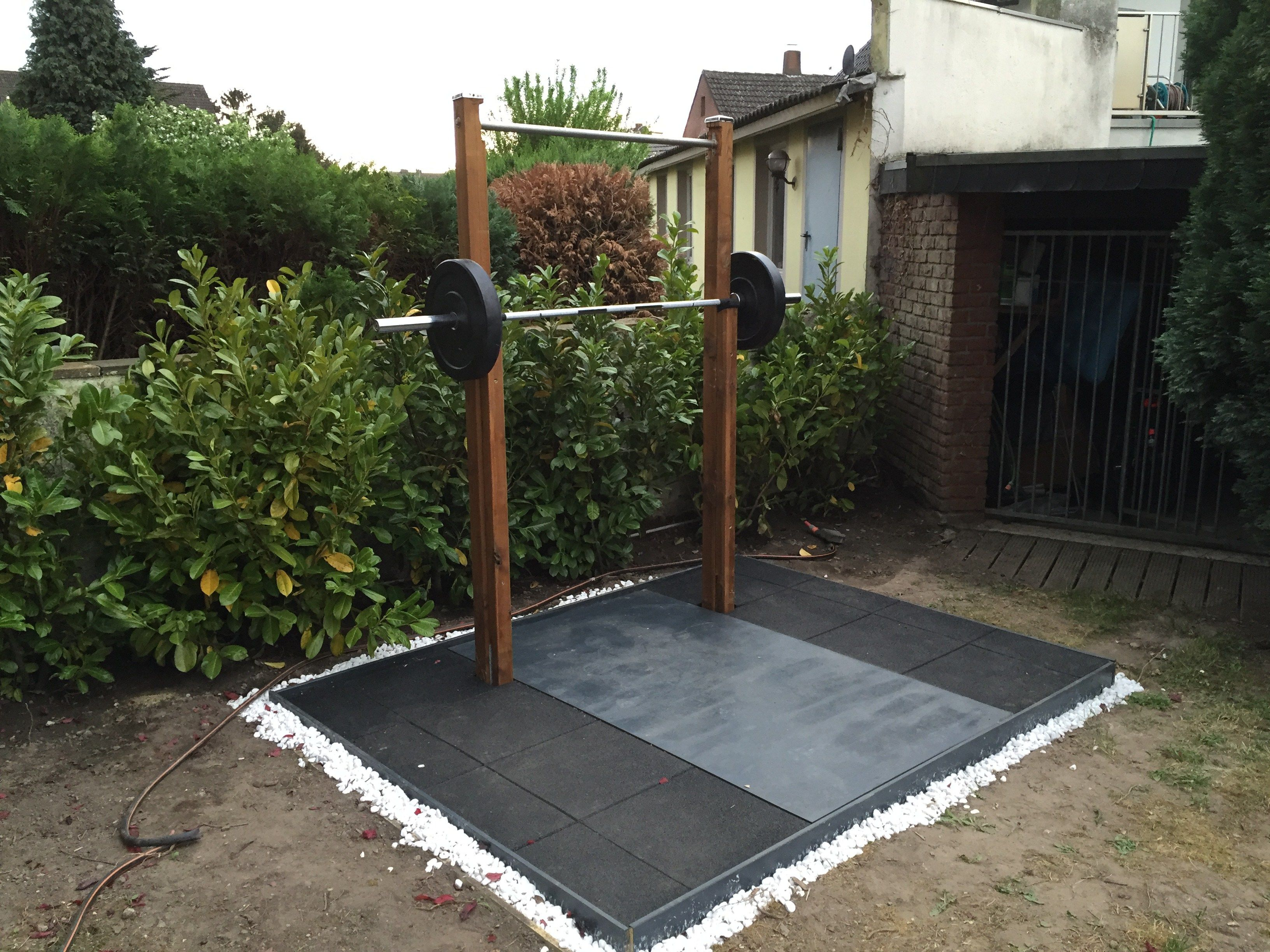 pin gym wooden imgur rack diy workout and squat