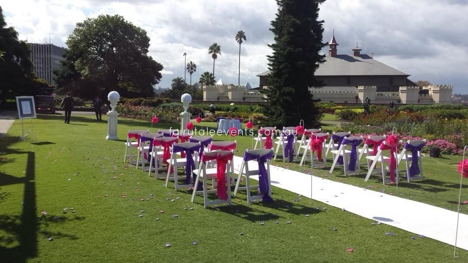 Outdoor Ceremony Royal Botanical Gardens Sydney By Fairytale Events