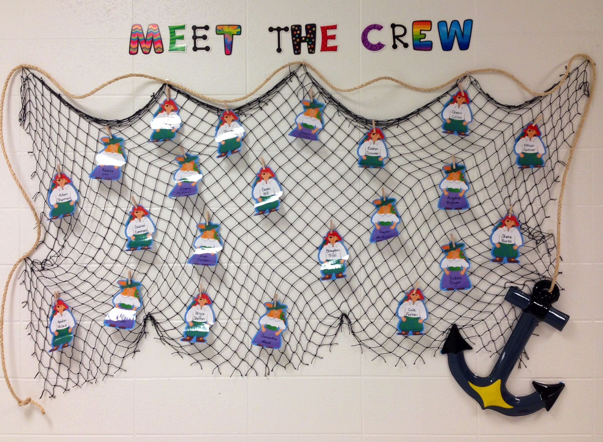 Classroom Ideas For Using Superflex ~ Pirate welcome back to school bulletin board i ended up