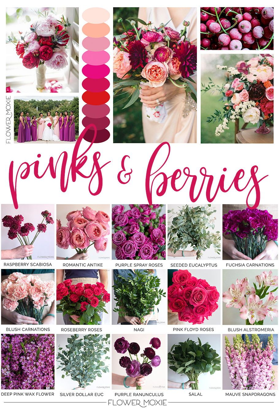 Flower Moxie Helps Brides Diy Their Flowers By Providing Florist Quality Blooms Video T Affordable Wedding Flowers Online Wedding Flowers Bulk Wedding Flowers