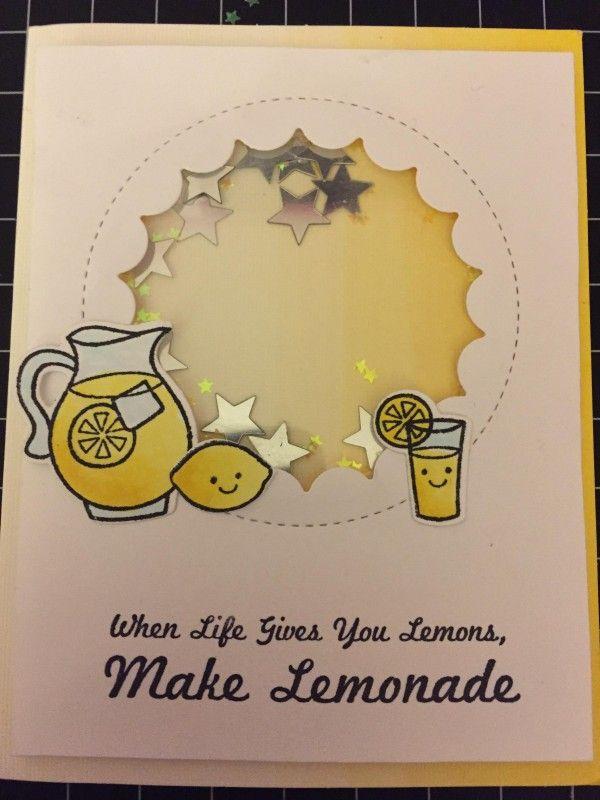 Make lemonade by Tapdancer - Cards and Paper Crafts at Splitcoaststampers