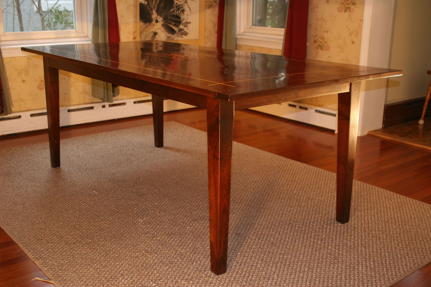 Shaker Style Dining Room Table Plans Kitchen Table Wood Dining