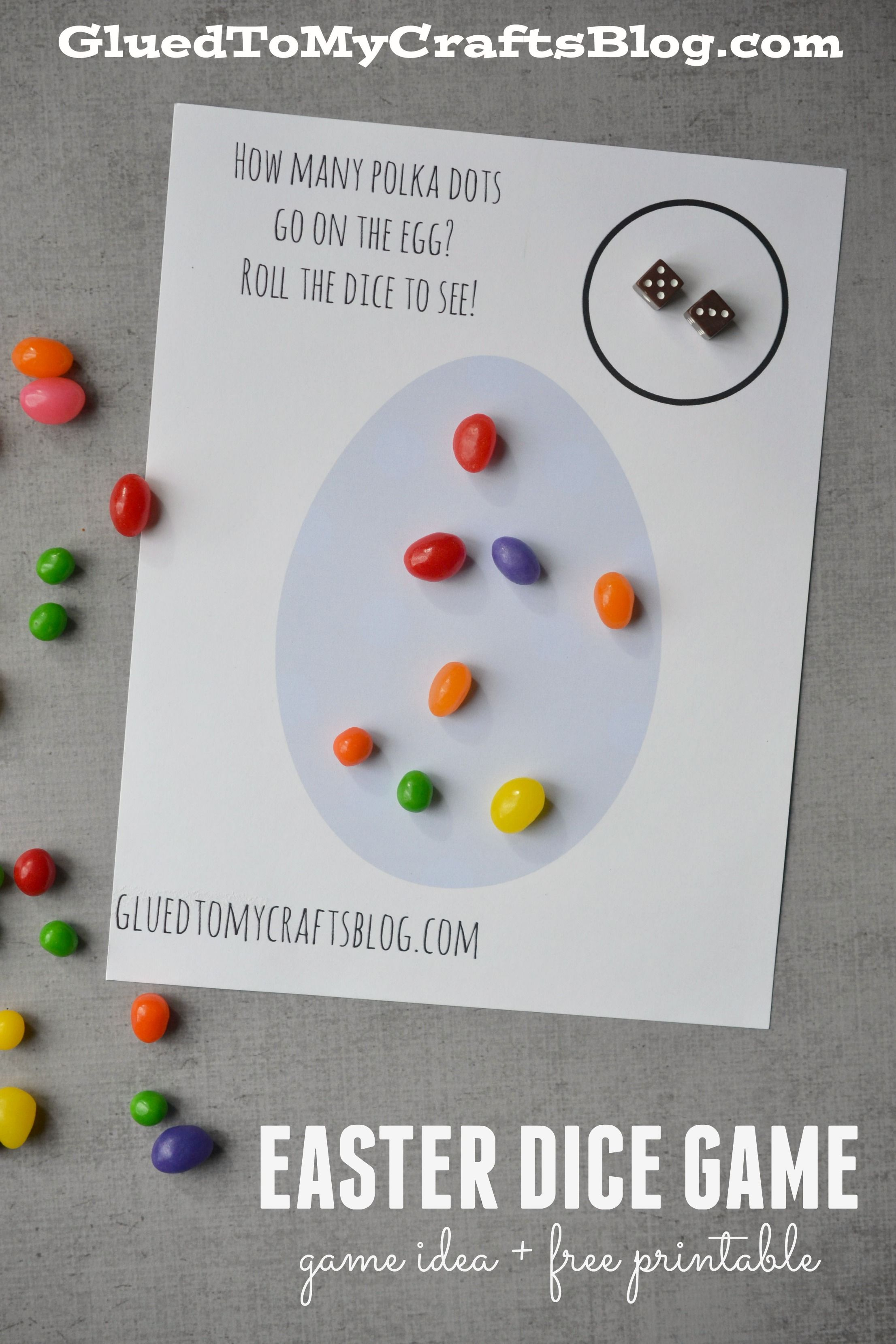 Easter Dice Game - Game Idea & Free Printable   Easter   Teaching ...