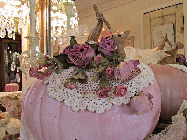 Penny\u0027s Vintage Home Romancing Autumn pumpkins Pinterest - romantic halloween ideas
