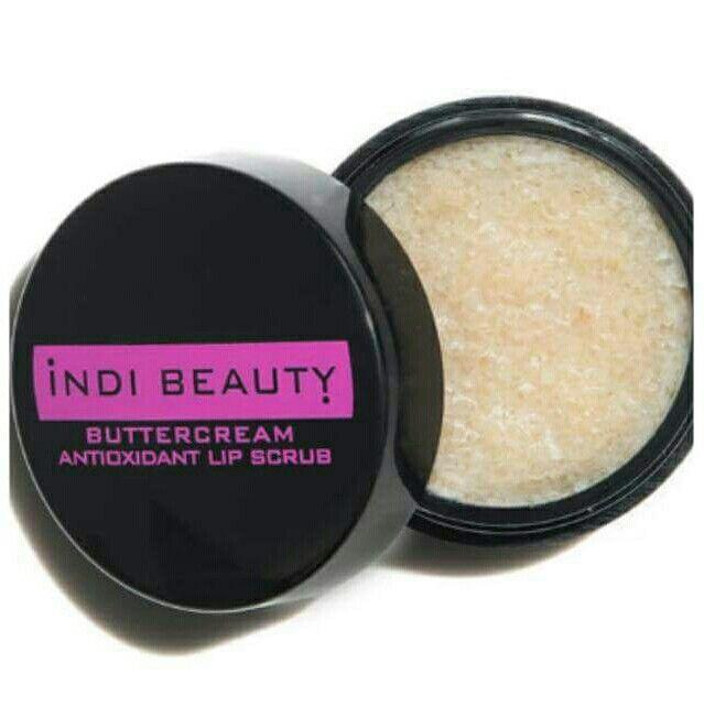 Indi beauty buttercream lip scrub