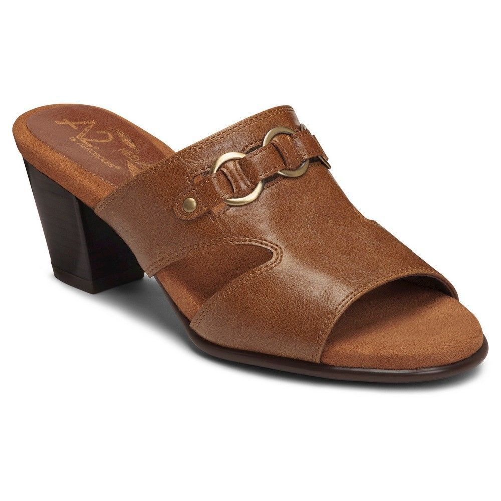 Womens Sandals Aerosoles Base Board Tan