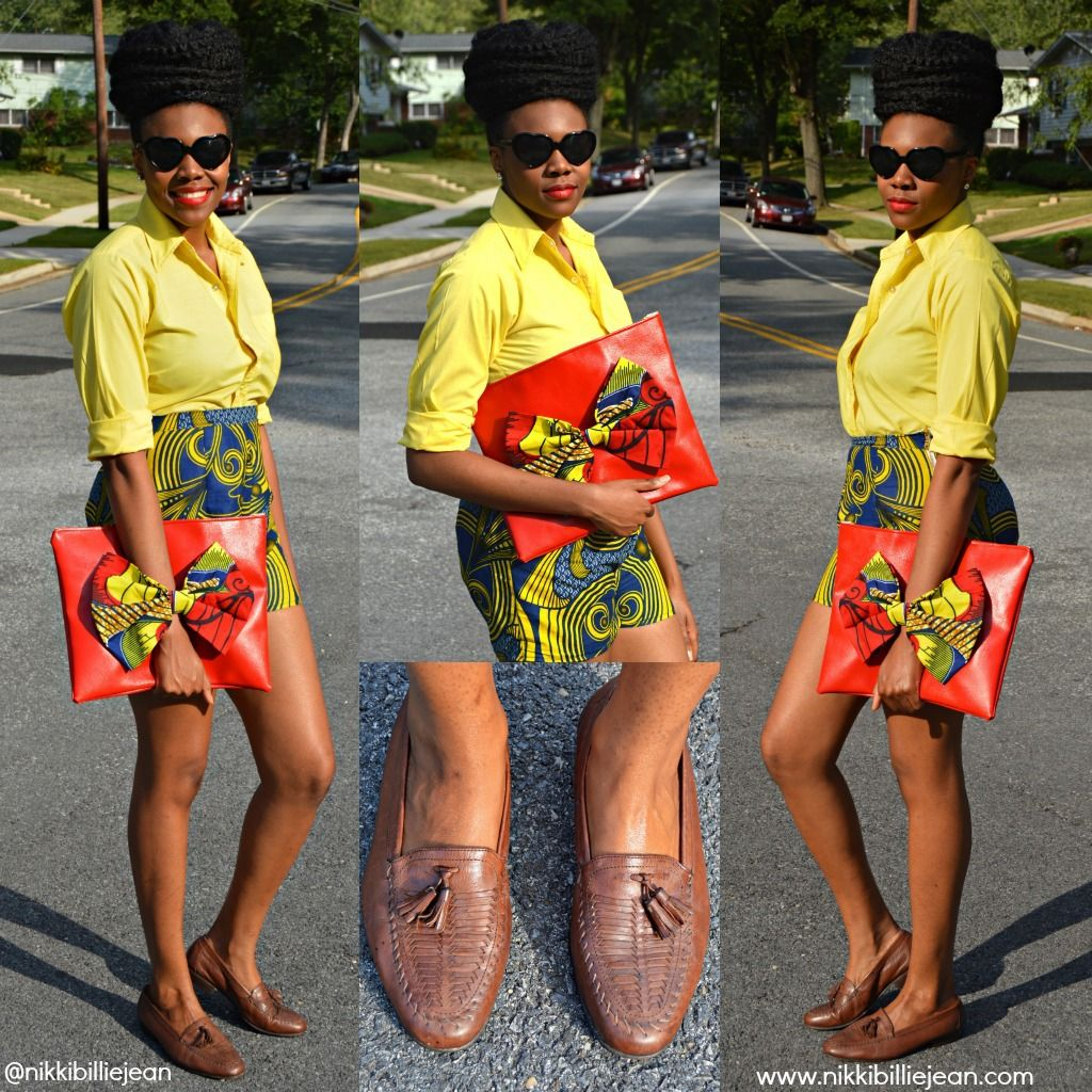 All Things Ankara: Nikki Billie Jean: An Ankara Lovin Naturalista