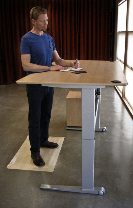 Tall Chair For Standing Desk   Space Saving Desk Ideas | Simple Home Design  | Pinterest | Space Saving, Desk Space And Desk